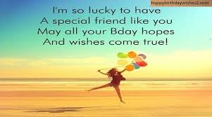 wishing happy birthday quotes to a friend