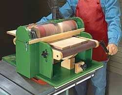 free thickness sander plans woodworking