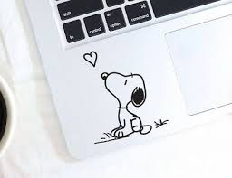 Snoopy Easter Basket Egg Macbook Laptop Car Wall Vinyl Glitter Decal Sticker 147