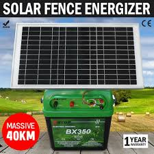 Pinnacle Wholesalers X Stop Bx 350 Solar Power Electric Fence Charger For Sale Online Ebay