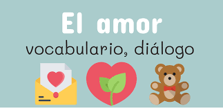 Frases de amor en español - Vocabulario de amor