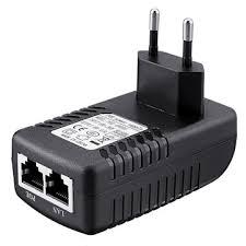 5pcs eu plug cctv security 48v 0 5a 24w