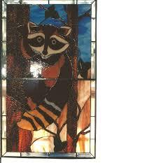 stained glass panel door insert