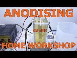 small scale aluminium anodising in the
