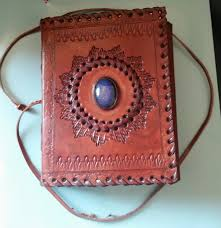 third eye book of shadows leather journal