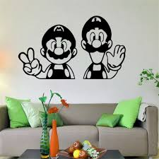 Super Mario Home Decor Wall Decals American Wall Decals