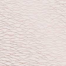 hono rose gold abstract wave wallpaper