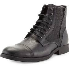 rw footwear edgar leather double zip