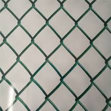 China Galvanized Stainless Steel Pvc Pe Coated Green Vinyl Coated Chain Link Fence China Fence Chain Link Fence