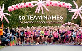 team names for t cancer awareness