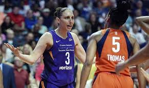 Mercury's Diana Taurasi claps back after 13th elimination-game win