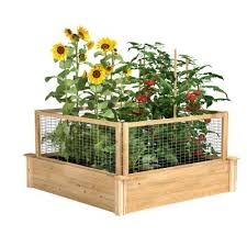 Greenes Fence Raised Garden Beds Garden Center The Home Depot