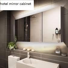 hotel big size bathroom mirror cabinet