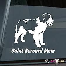 Amazon Com Saint Bernard Mom Sticker Vinyl Auto Window V2 St St Automotive