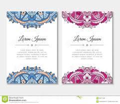 Tarjetas De Felicitacion Fijadas Con El Modelo Colorido De La