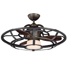 caged ceiling fan