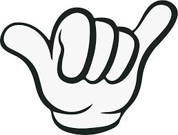Hand Symbol Decorative Vehicle Sticker Tenstickers