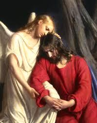 Jesus Christ In Gethsemane Detail Painting by Carl Bloch