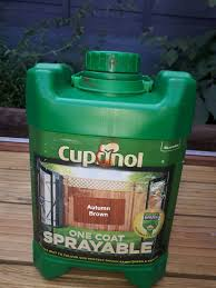 Cuprinol One Coat Sprayable In Autumn Brown In Wv14 Dudley For 5 50 For Sale Shpock