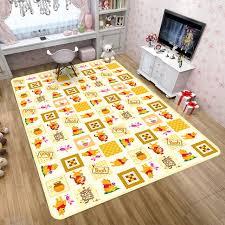 Best Price 5d9574 Disney Marvel Spiderman Rug Cartoon Winnie Pooh Children Boys Room Carpet Nordic Bedroom Living Room Blanket Kids Baby Game Mat Cicig Co