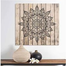 Amazon Com New Tribe Mandala Stencil For Walls Wall Stencil Mandala Reusable Stencil Better Than Mandala Decal Laser Cut Mandala Template For Painting Mandala Painting Stencil For Easy Decor