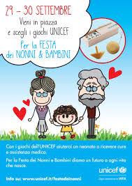 29, 30, 1 e 2 ottobre 2018: Festa dei Nonni e Bambini UNICEF — Ogni bambino  è vita. | by Mario Coviello