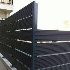 China Th 05c Outdoor Fence Wood Plastic Natural Wood Plastic Composite Wpc Picket Fence China Decorative Fence Panels Australian Hardwood Wood Plastic Fence