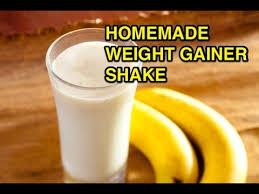 homemade weight gainer protein shake