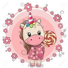 Image result for lollipops and unicorn clipart