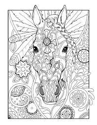 Pin Van Barbara Op Coloring Horse Zebra Kleurplaten Kleurboek