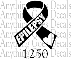 Epilepsy Awareness Decal 1250 Anything Goes Decals