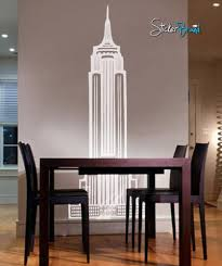 Vinyl Wall Art Decal Sticker Empire State Building Ny 163 Stickerbrand