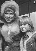 Mortimer's joy at son with Wendy Craig