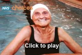 NHS VIDEOS   Swimming in your 90s - Health videos - NHS Choices