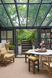 conservatory and glass house ideas