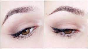 easiest winged eyeliner tutorial you