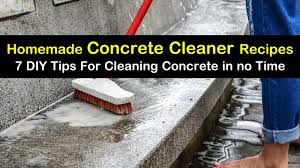 homemade concrete cleaner recipes 7