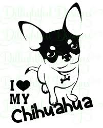 Download Chihuahua Decal Digital Svg Decal Download Sticker Etsy In 2020 Chihuahua Chihuahua Love Chihuahua Dogs