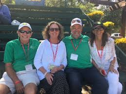 """The Ojai on Twitter: """"Well, we did it! Another year in the books. Since  1896. Great tossing of the torch for (l to r:) Duane Williamson, current  OVTC President Carolyn Burke, Mike"""