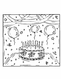 10th Birthday Cake Free Coloring Pages Sheets And Wallpapers