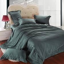 luxury dark green bedding set king size