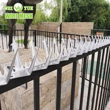 China Anti Climbing Spikes Galvanized Steel Wall Fence Anti Climb Wall Spike China Wall Spike Security Spikes