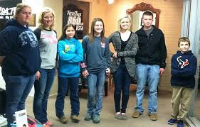 First Day Winners from County Fair Visit Merrell in the Morning