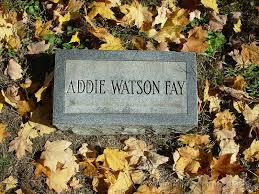 Mt. Pleasant Cemetery, Clermont County, Ohio/fay__addie_watson