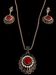 indian jewellery set antique gold