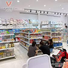 ▷ Dự án lắp đặt kệ siêu thị mẹ và bé Bambi Kids tại Đà Lạt