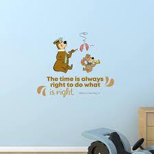 Design With Vinyl Always Right Yogi Bear Life Quote Vinyl Wall Decal Wayfair