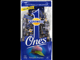 ones pitted california prunes dried
