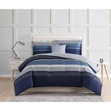 style 212 carlyle 9 piece blue twin
