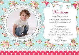 50 Invitaciones Tarjetas Bautismo Primer Ano Baby Shower 350